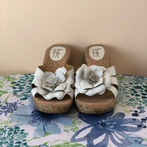 Born BOC Rosebay White Sandals